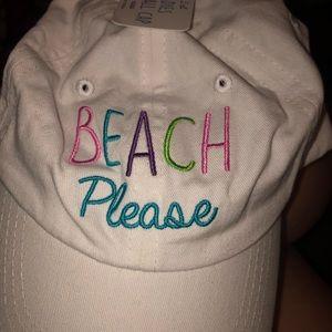"Accessories - ""beach please"" women's hat"